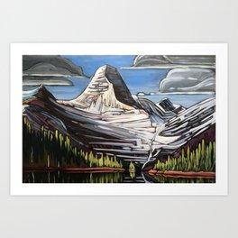 Mount Assiniboine Art Print