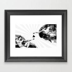 God give Secrets to Man Framed Art Print