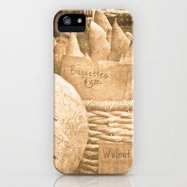 Baguettes du jour iPhone Case