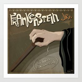 Young Frankenstein Art Print