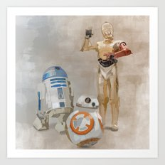 The Droids You're Looking For Art Print