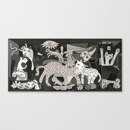 Guernicats Canvas Print