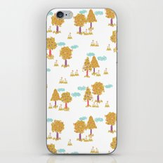 Butterfly Garden - Trees iPhone & iPod Skin