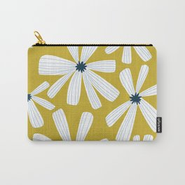 Retro Blooms Carry-All Pouch