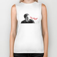dexter Biker Tanks featuring Dexter by Crazy Thoom
