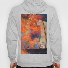 Ocean Magic - Abstract Painting Hoody