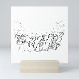 Up The Duffey Mini Art Print