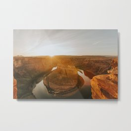 Horseshoe Bend, v.3 Metal Print