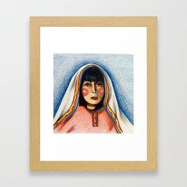 Chakira Framed Art Print