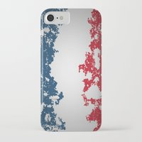 france iPhone & iPod Cases featuring France by Flat Design