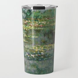 Water Lilies 1904 by Claude Monet Travel Mug
