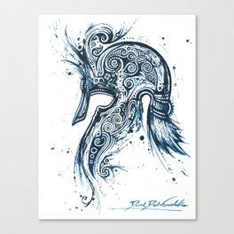Moriquendi Elven Helm 2 Canvas Print
