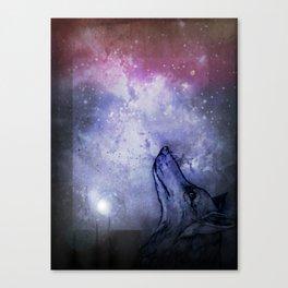 Star Wolf Canvas Print