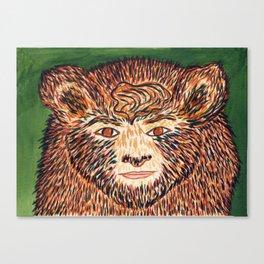 Spirit Animal Bear Canvas Print