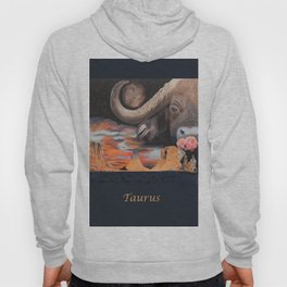 Taurus- The Zodiac Wildlife Series Hoody