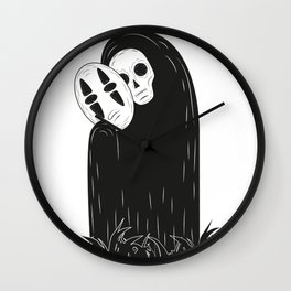 Sin cara Wall Clock