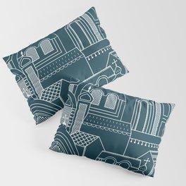 Ukrainian Church Monochrome Pillow Sham