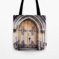 doors Tote Bags featuring Doors by JMcCool