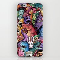 community iPhone & iPod Skins featuring Colourful Community by Salih Gonenli