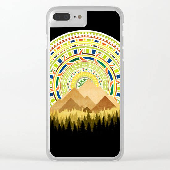 Nature IoOoI Clear iPhone Case