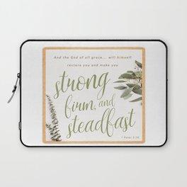 1 Peter 5:10 Laptop Sleeve