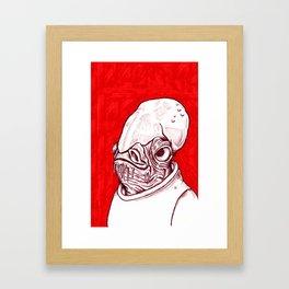 Ackbar Framed Art Print