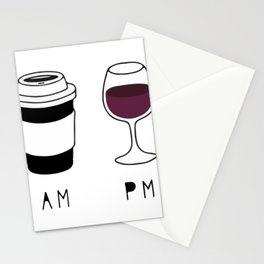 Coffee and Wine Stationery Cards