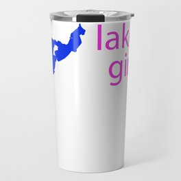 Crooked Lake girl Travel Mug