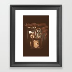 Doc Franklin's Miracle Tonic Framed Art Print