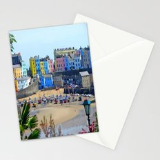 Tenby Harbour.Colour.Reflection. Stationery Cards