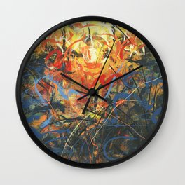 Clearwater Sunset Wall Clock