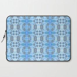 Healing Ultra Blue HD Retro Floral Laptop Sleeve