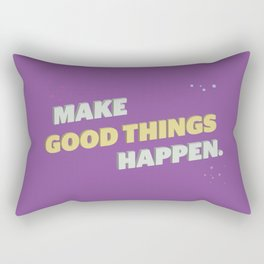 Make It Happen Rectangular Pillow