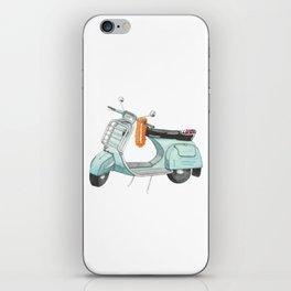 Watercolour | Bali Scooter iPhone Skin