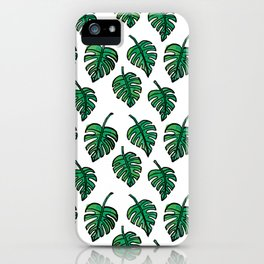 GREEN PLANTS iPhone Case
