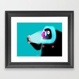 Selfie! Framed Art Print