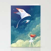 freeminds Stationery Cards featuring Flyby by Freeminds