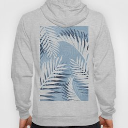 Tropical bliss - chambray blue Hoody