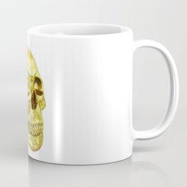 Goldish Skull Coffee Mug
