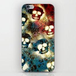 Speckled Skulls. iPhone Skin