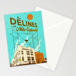 THE DELINES w/ Mike Coykendall - Feb 16th, 2019 @ The Secret Society - Portland, Oregon Stationery Cards