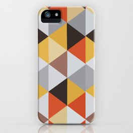 Jacquard rombs iPhone Case