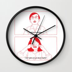 i will be your mother. Wall Clock