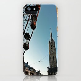 Christmas in Ghent iPhone Case