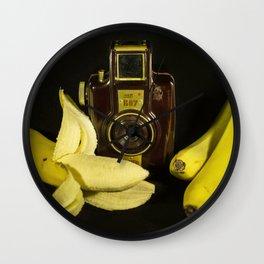 Bilora Blitz Boy and Bananas Wall Clock