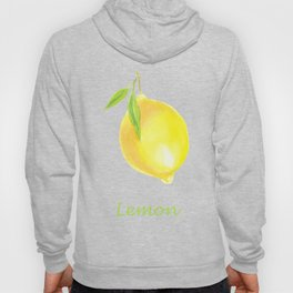 Lemons and leaves Hoody