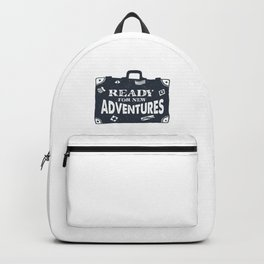 Ready For New Adventures Backpack