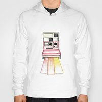 polaroid Hoodies featuring Polaroid by Ilariabp.art