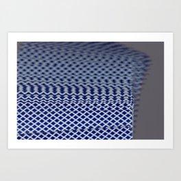 Solitaire Zoom Art Print