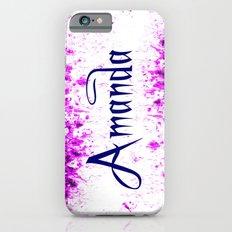 Amanda iPhone 6s Slim Case